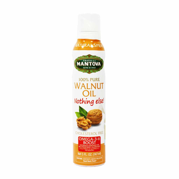 Mantova 100% Pure Walnut Oil Spray from Italy 5 oz.