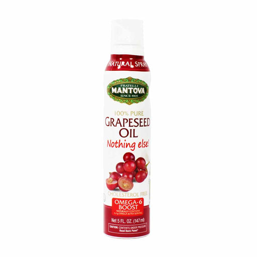 Mantova Pure Italian Grapeseed Oil Spray 5 oz.