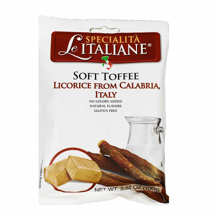 Calabrian Soft Toffee Licorice 3.5 oz.