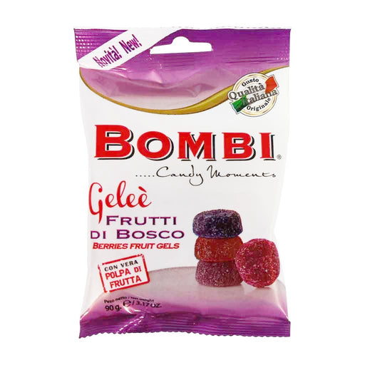 Bombi - Italian Berry Fruit Gels, 3.1 oz.