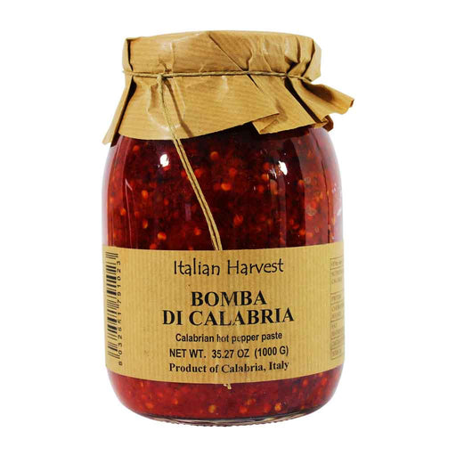 Bulk Calabrian Hot Pepper Paste Bomba di Calabria,  2.2 lb, 1kg