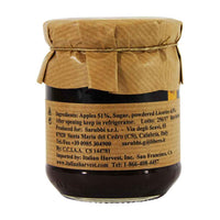 Calabrian Apple Preserve with Licorice Root by Sarubbi 8.1, oz, 230g