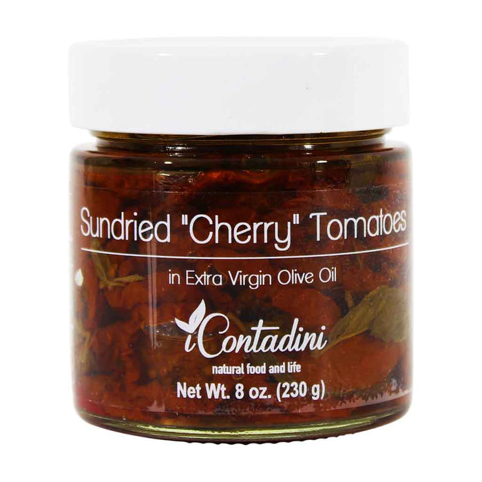 Contadini - Sundried Cherry Tomatoes in Extra Virgin Olive Oil, 8 oz.