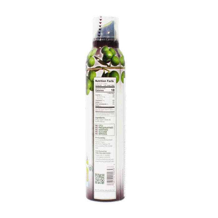 Mantova Italian Truffle Flavored Extra Virgin Olive Oil Spray 8 oz.