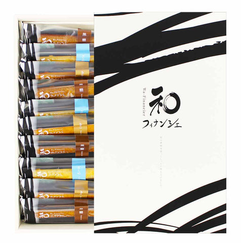 Igetado 10 Piece Japanese Wa Financier Cakes Gift 11.5 oz. (328g)