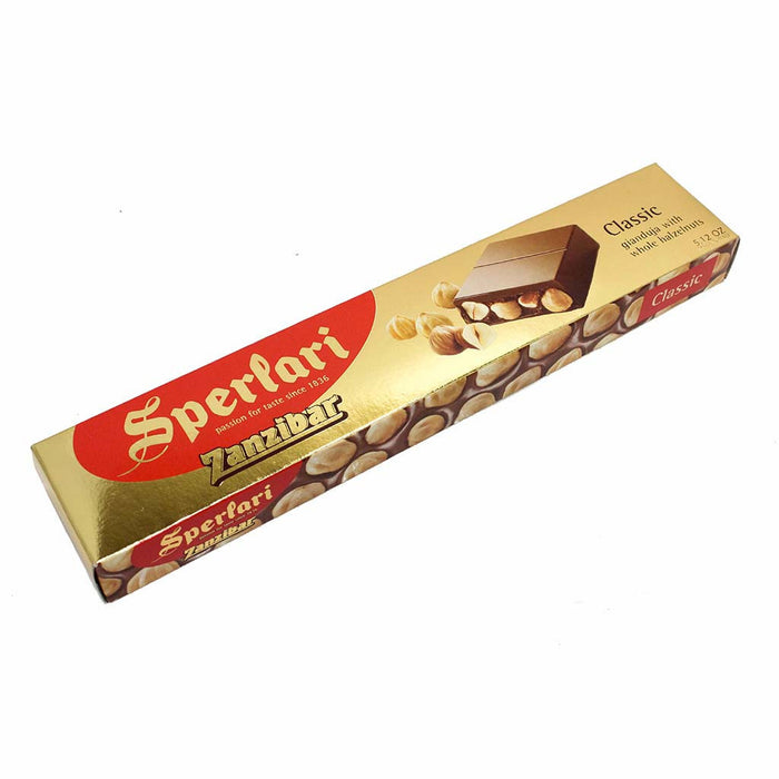 Sperlari 250 g Zanzibar, Chocolate with Hazelnuts, 8.7 oz