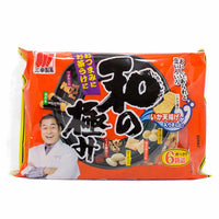 Japanese Rice Cracker Arare Soy Rice Assortments by Sanko, 4.8 oz (136 g)