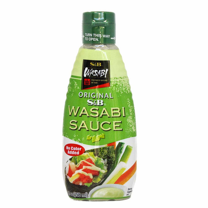 Wasabi Sauce by S&B from Japan, 5.3 fl oz. (158 ml)