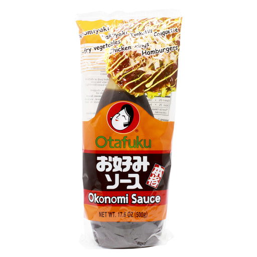 Okonomiyaki Sauce for Japanese Pancake by Otafuku, 17.6 oz (500 g)