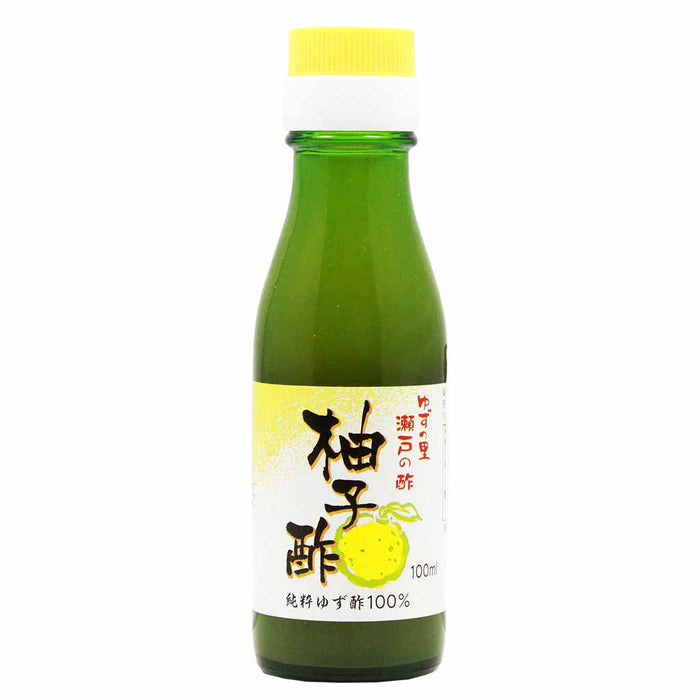 Premium First Squeeze Japanese Pure Yuzu Vinegar, 3.3 fl. oz. (100ml)
