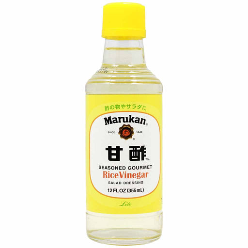 Marukan Rice Vinegar for Salad Dressing, 12 fl oz (355 ml)
