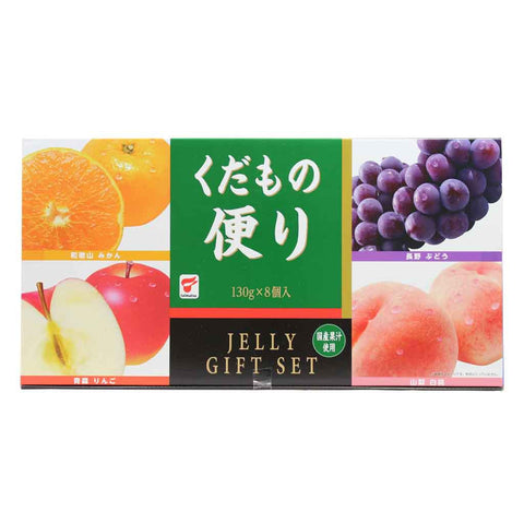 Premium Japanese Fruit Jelly Gift Set by Taimatsu 2.3 lbs