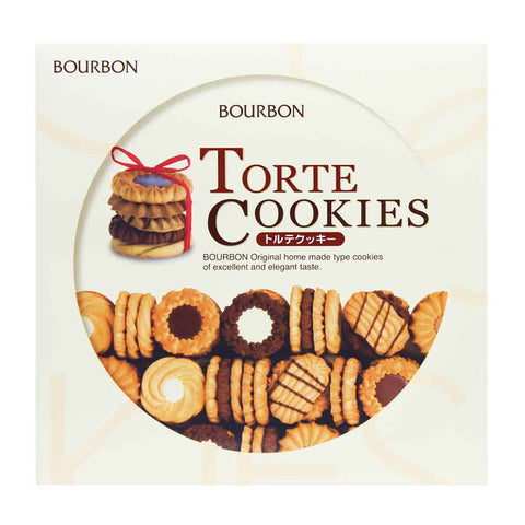 Japanese Cookies Gift Set by Bourbon 11.18 oz