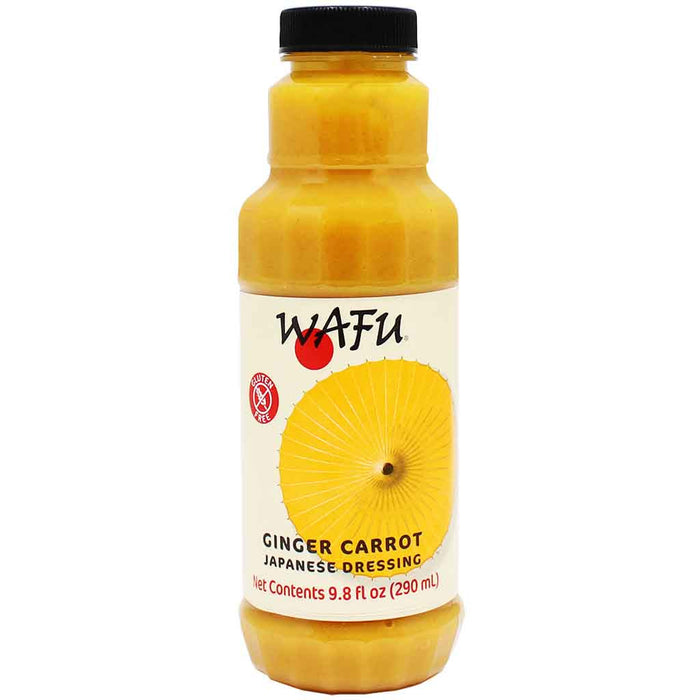 Carrot Ginger Dressing by Wafu, Japanese Style, 9.8 fl oz (290 ml)