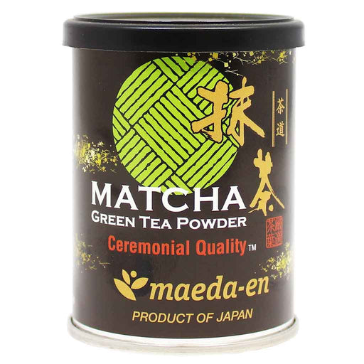 Maeda-en Matcha Green Tea Powder Ceremonial Quality 1 oz (28 g)