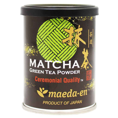 Maeda-en Ceremonial Quality Matcha Green Tea Powder 1 oz. (28 g)