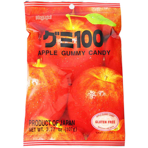 Kasugai Apple Gummy Candy, 3.7 oz (107 g)