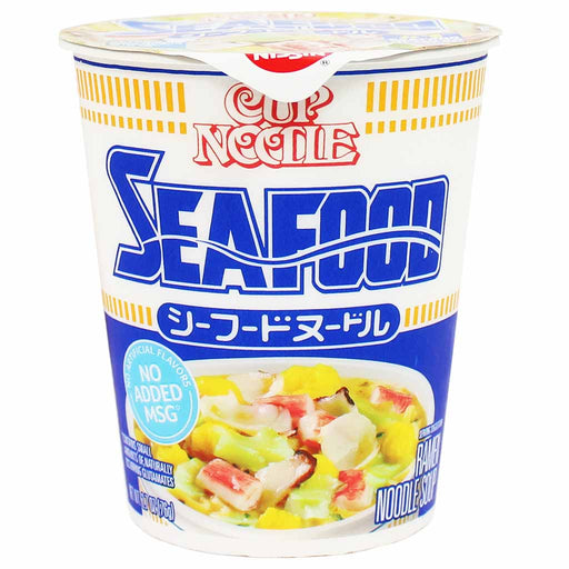 Nissin Instant Ramen Seafood Cup Noodle, from Japan 2.7 oz (76 g)