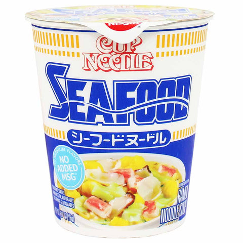 Nissin Seafood Cup Noodle 2.7 oz. (76g)