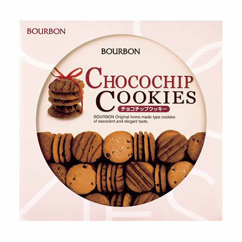 Bourbon Premium Chocochip Cookies Tin Gift 11 oz. (312g)