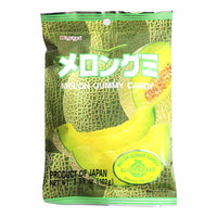 Kasugai Melon Gummy Candy, 3.7 oz (107 g)
