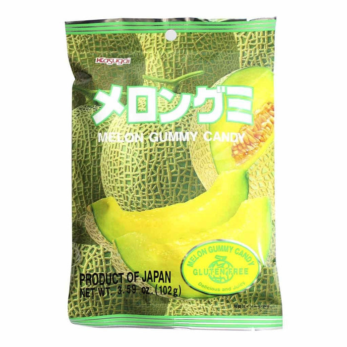 Kasugai Gummy Candy, Melon 3.7 oz (107 g)