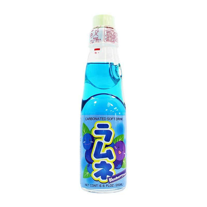 Ramune - Blueberry Soda 6.6 oz (200 ml)