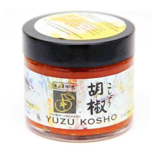Yuzu Kosho from Yakami Orchards, Red, 2oz (56 g)