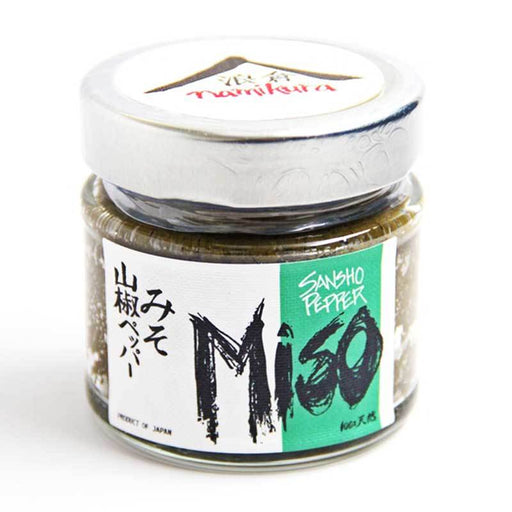 Japanese Miso Paste with Sansho Pepper by Namikura, 5.65 oz (160g)