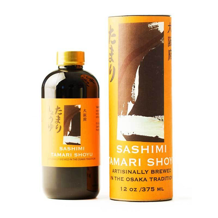 Tamari Shoyu Soy Sauce for Sashimi, Japan Import, 12 oz (375 mL)