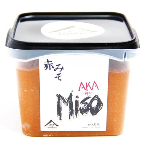 Red Miso Paste from Japan Aka style by Namikura, 17.6 oz (500g)