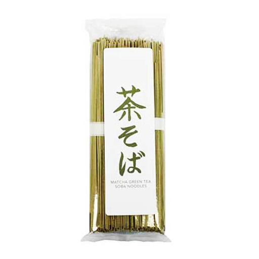Green Tea Soba Noodes, Cha Soba, 8.8oz (250g)