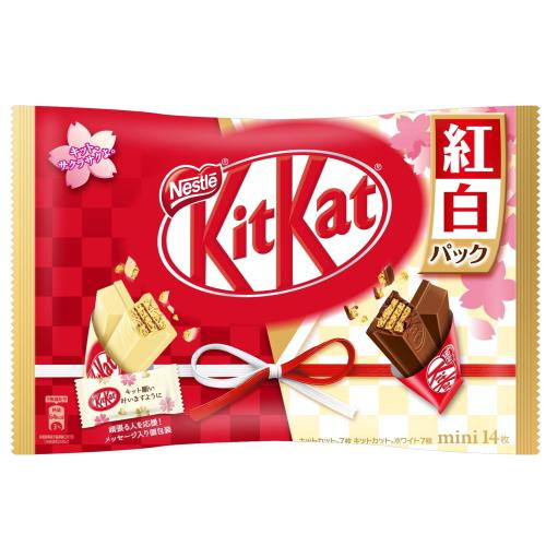 Limited Edition Red & White Kit Kat, Kohaku, 5.7 oz (162g)