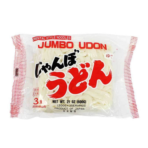 3-Pack Thick Udon Noodles from Japan, 21 oz (600g)