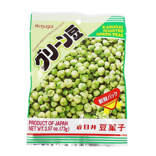 Kasugai Roasted Green Peas, 2.57 oz (73g)