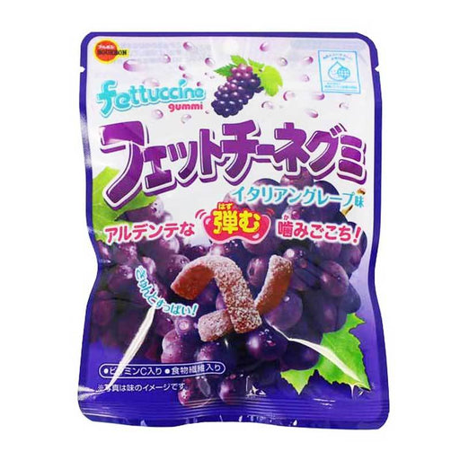 Bourbon Fettuccine Gummy Grape Flavor, 1.7 oz (50g)