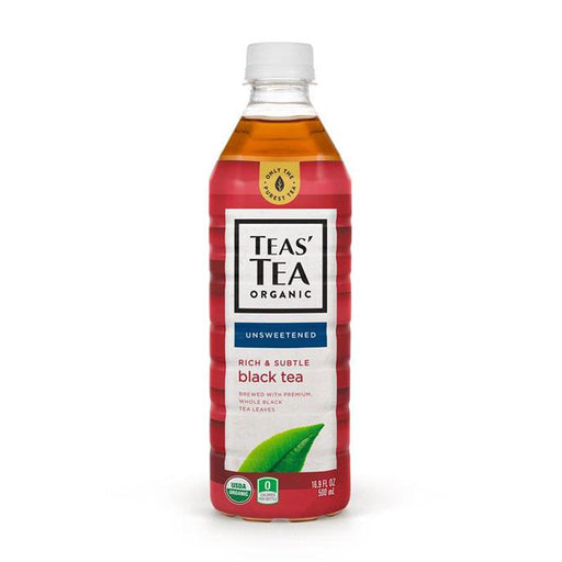 Ito En Organic Unsweetened Black Tea, 16.9 fl oz (500 mL)