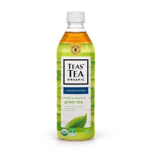 Teas' Tea Organic Cold Brew Unsweetened Green Tea, 16.9 fl oz (500 mL)
