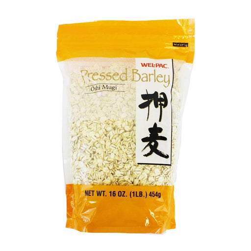 Pressed Barley Oshi Mugi by Well-Pak, 1 lb (454 g)