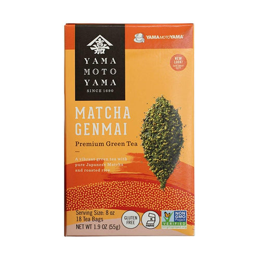 Yamamotoyama Genmai Roasted Rice Green Tea, 20 bags, 2.19 oz (62 g)