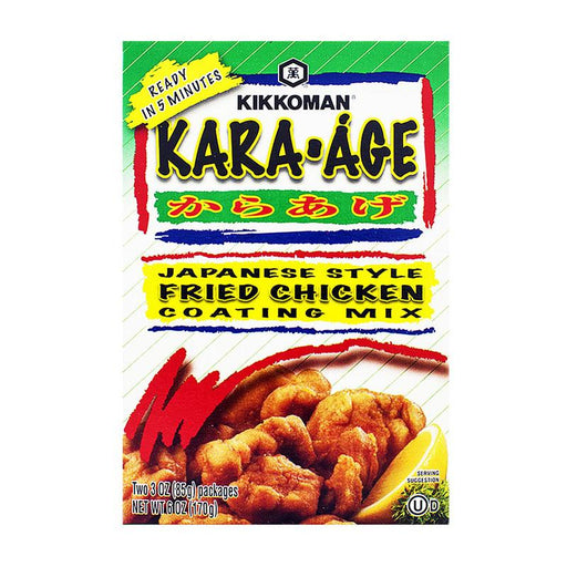 Japanese Style Fried Chicken Mix for Karaage by Kikkoman, 6 oz (170 g)