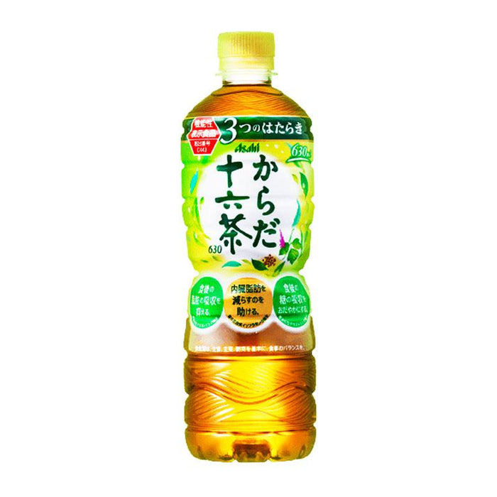 Asahi 16 Herb Tea Blend Jurokucha Japan Import , 21.3 fl oz (630 mL)