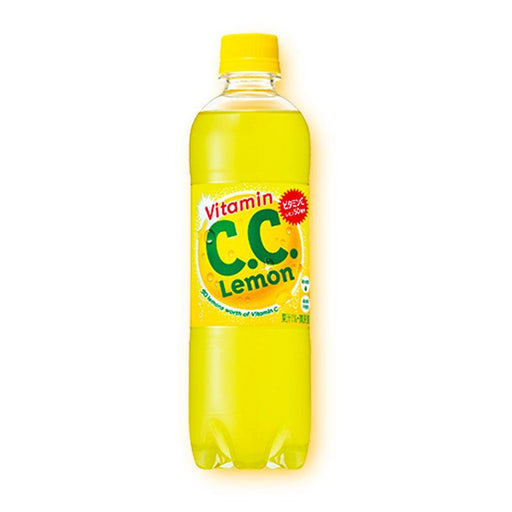 Suntory C. C. Lemon Mildy Carbonated, 16.9 fl oz (500 mL)