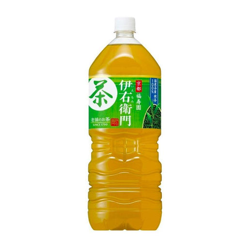 Suntory Stone Ground Green Tea Iyemon, 67.5 fl oz (2 L)