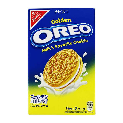 Golden Oreo Cookies from Japan, 6.7 oz (190 g)