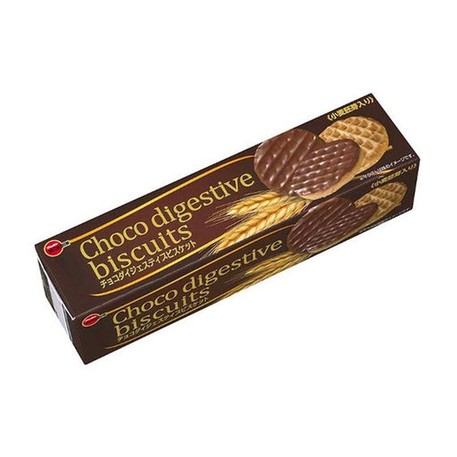 Chocolate Digestive Biscuits from Japan by Bourbon, 3.4 oz (98 g)