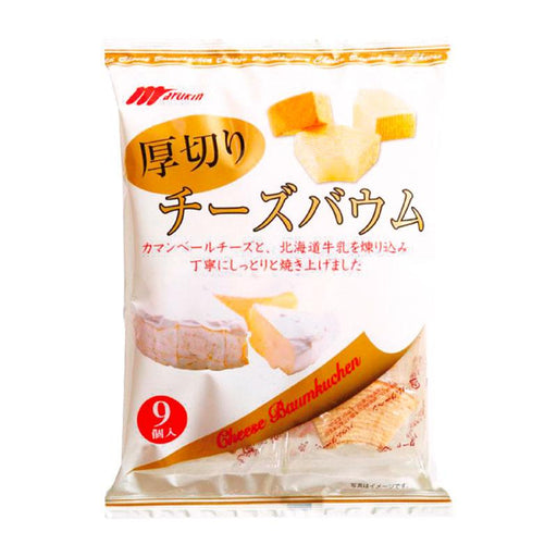 Japanese Cheese Baumkuchen by Marukin, 8.2 oz (234 g)