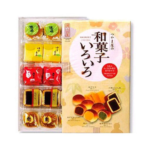 Wagashi Premium Assorted Japanese Sweets Gift, 8.81 oz. (250g)