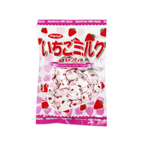 Strawberry Milk Japanese Candy by Ameha, 3.3 oz. (95g)