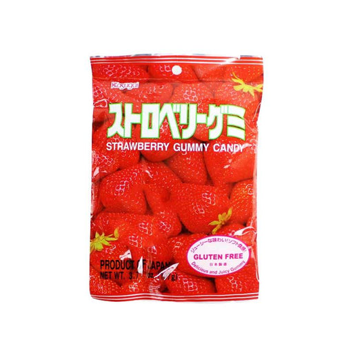 Kasugai Gummy Candy, Strawberry 3.8 oz. (107g)